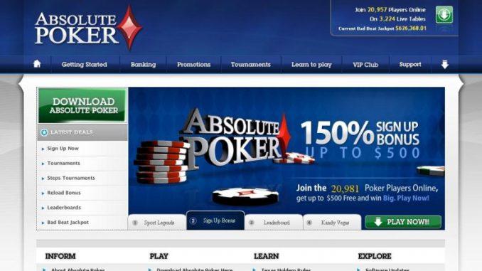 Absolute Poker Review & Bonuses